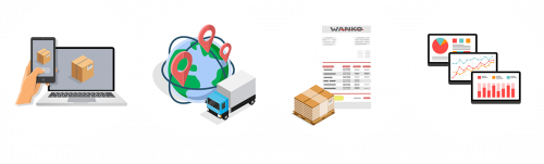 Wanko Informationslogistik: Icon Tourenplanung
